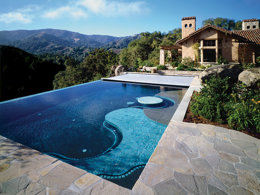 Cover any type of pool cover pools for Pool negative edge design