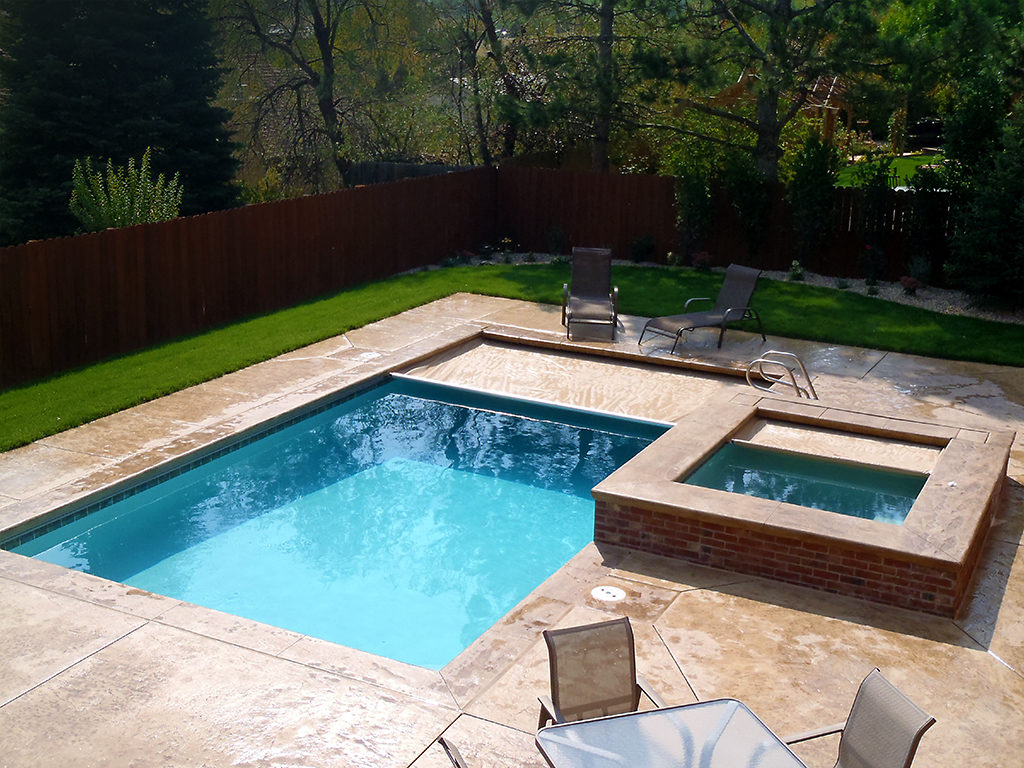 cover pools can cover your inset spa and spa attached to your pool too for freestanding or separate in ground spas consider the autosave spa cover - Rectangle Pool With Spa